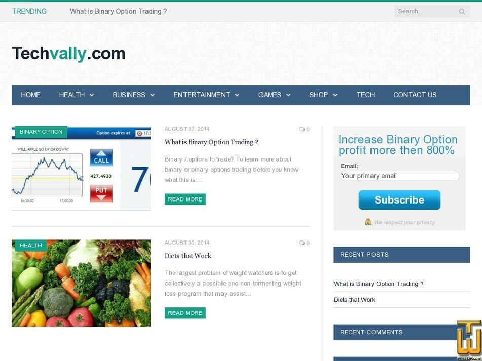 techvally.com Screenshot