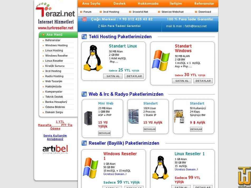 terazi.net Screenshot