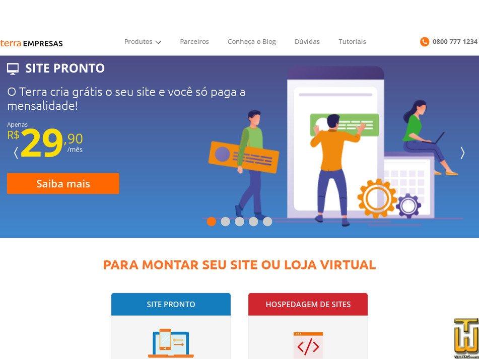 terraempresas.com.br Screenshot