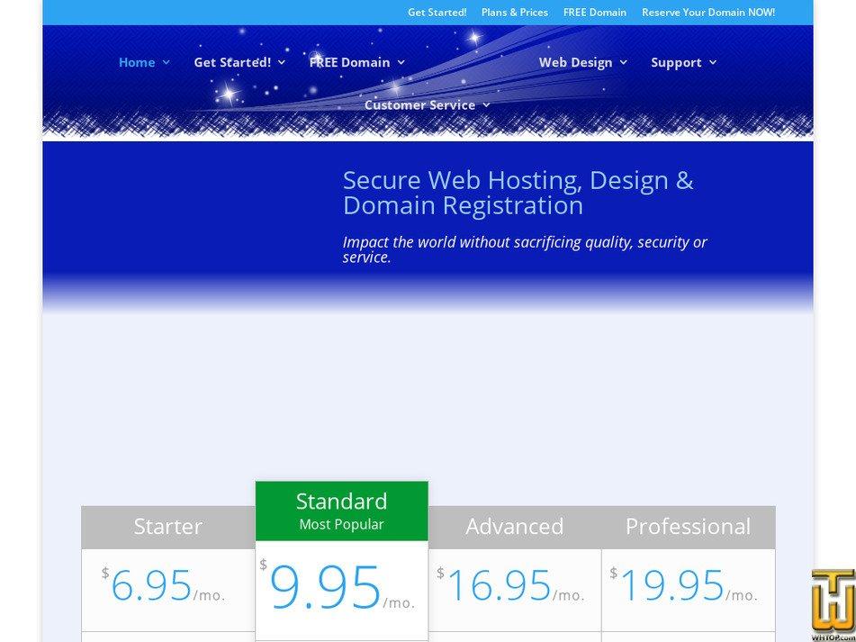 tlcwebhosting.com Screenshot