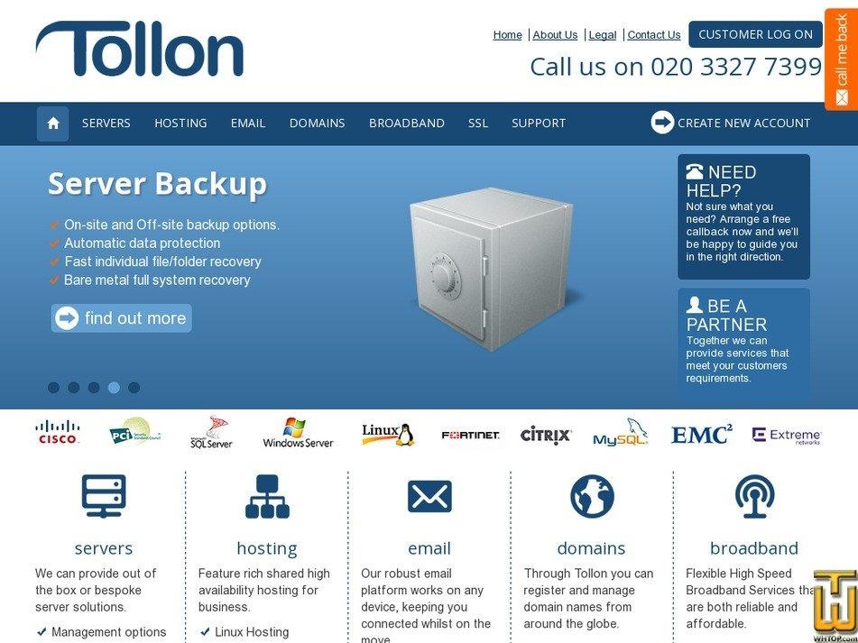 tollon.net Screenshot