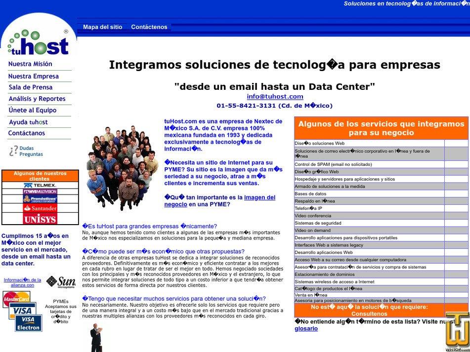 tuhost.com Screenshot
