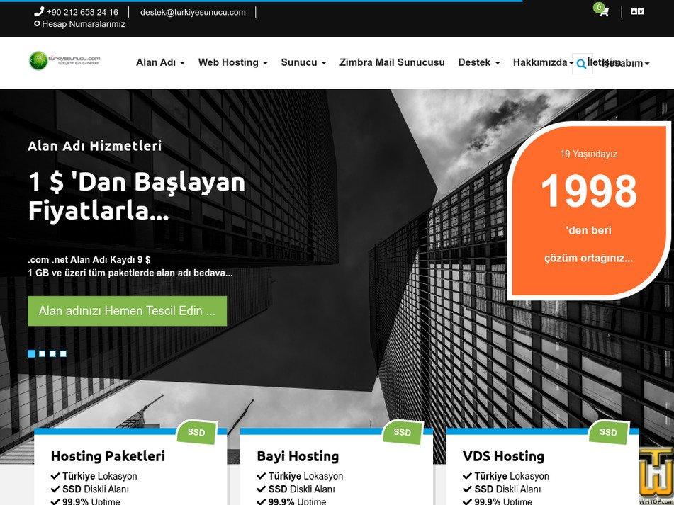 turkiyesunucu.com Screenshot