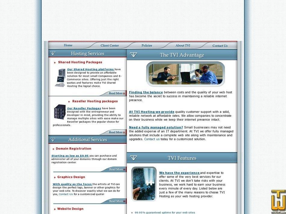 tvihosting.com Screenshot