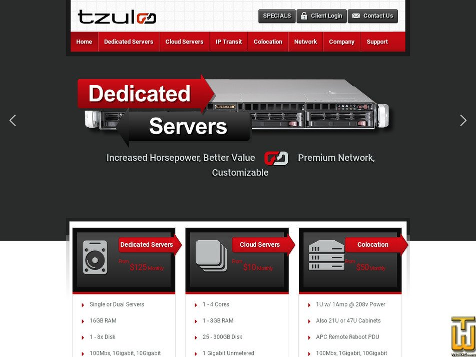 Tzulo Review 2019 - hosting ratings by 1 user  Avg  Rank 10/10