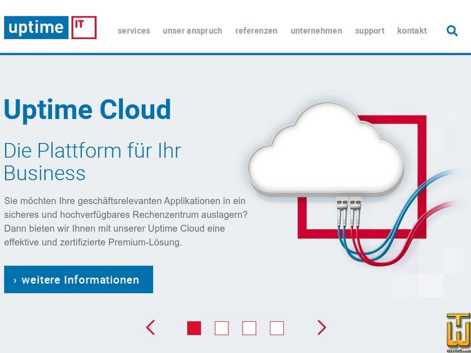 uptime.de Screenshot