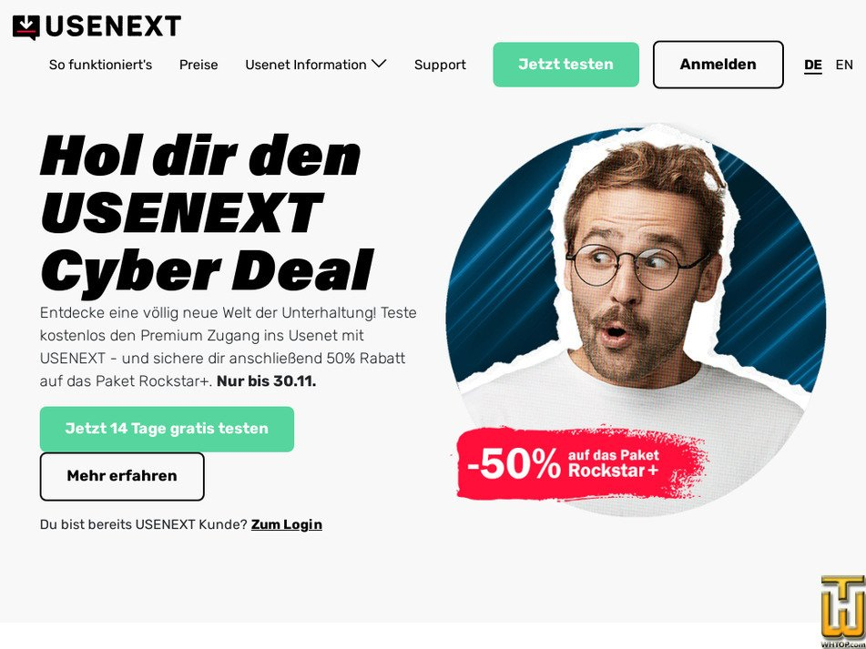 usenext.com Screenshot