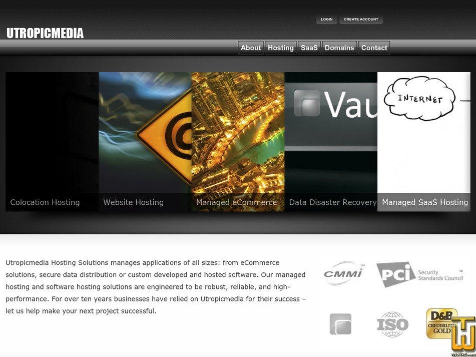 utropicmedia.net Screenshot