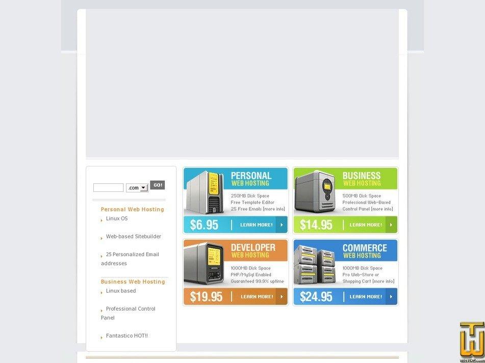 visiohosting.com Screenshot