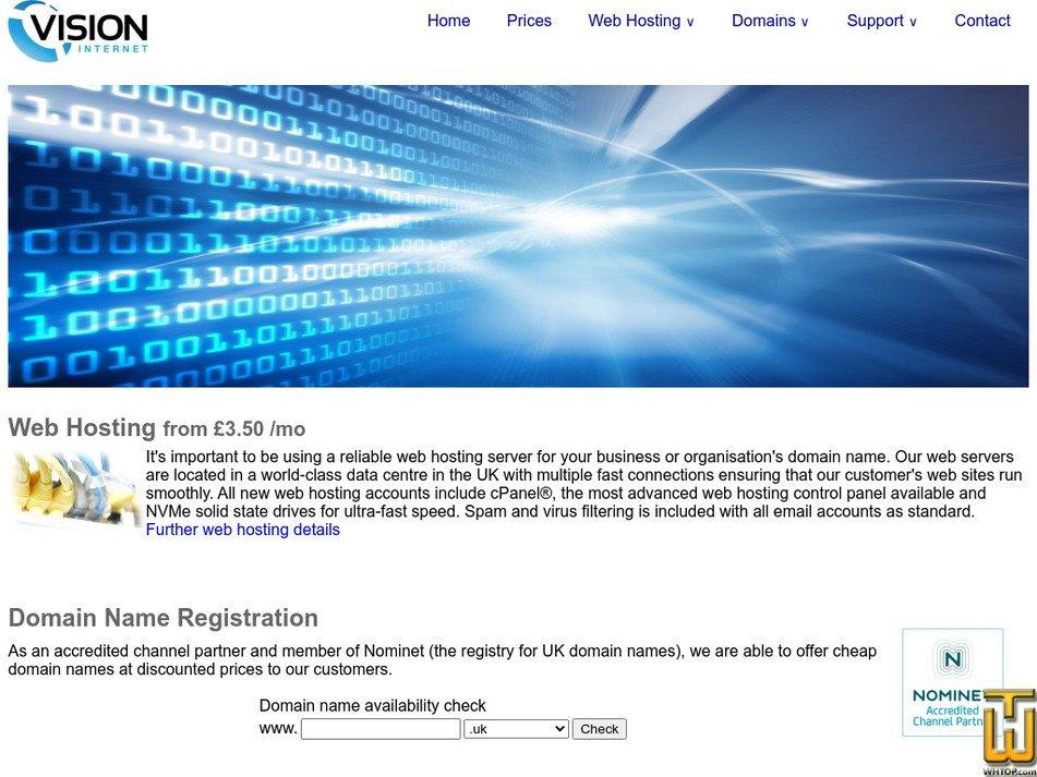 visn.co.uk Screenshot