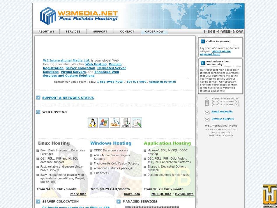 w3media.net Screenshot