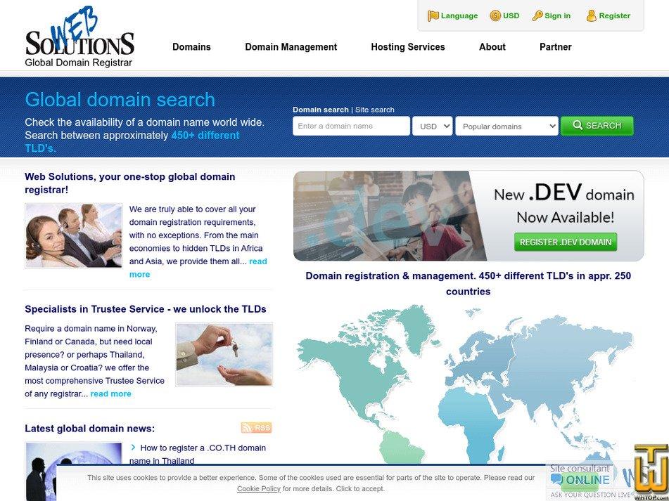 web-solutions.eu Screenshot