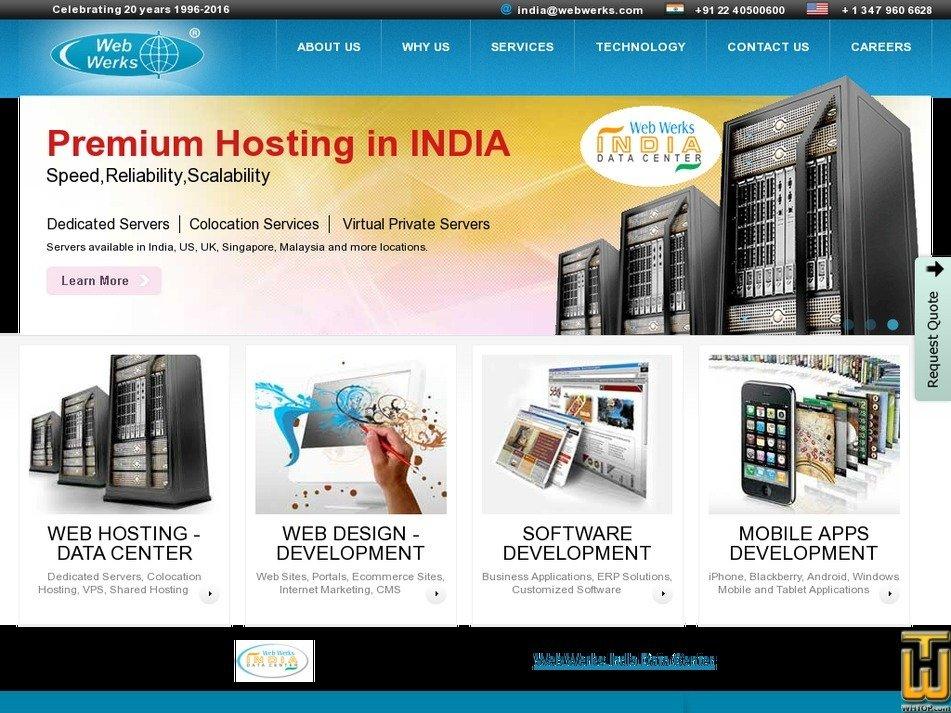 web-werks.com Screenshot