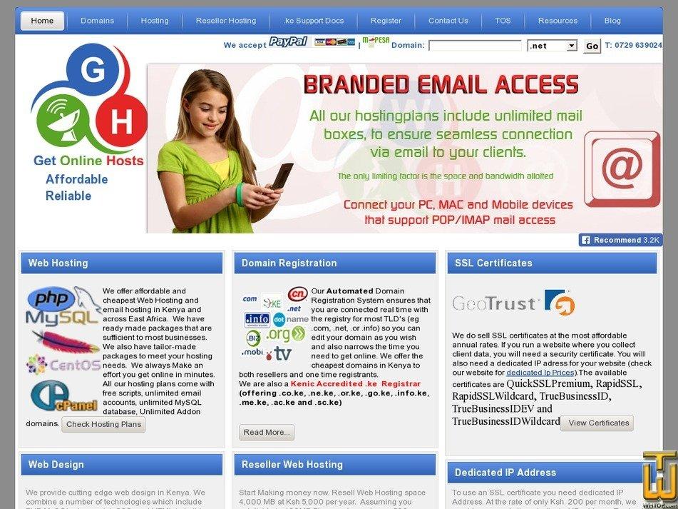 webaukhosting.net Screenshot