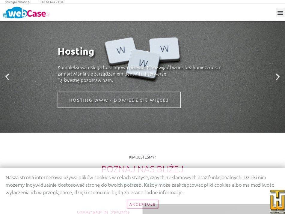 webcase.pl Screenshot
