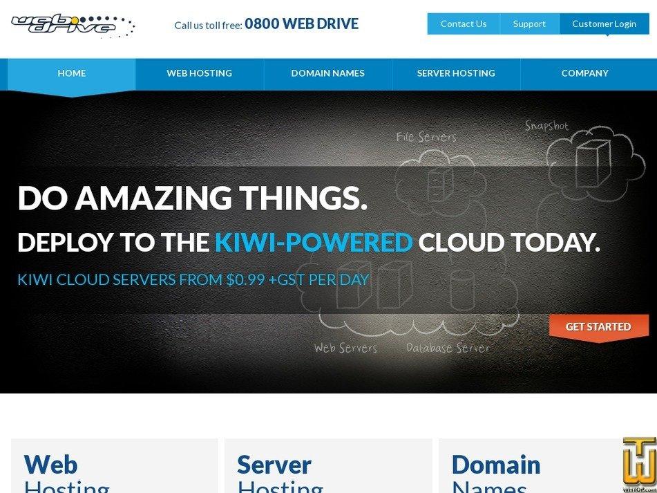 webdrive.co.nz Screenshot