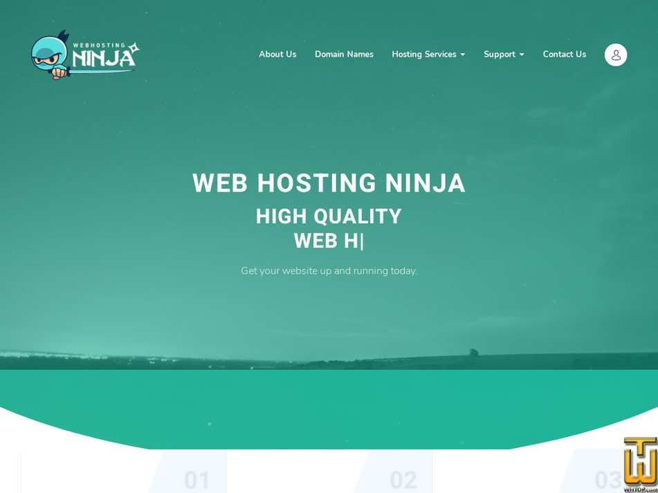 webhosting.ninja Screenshot