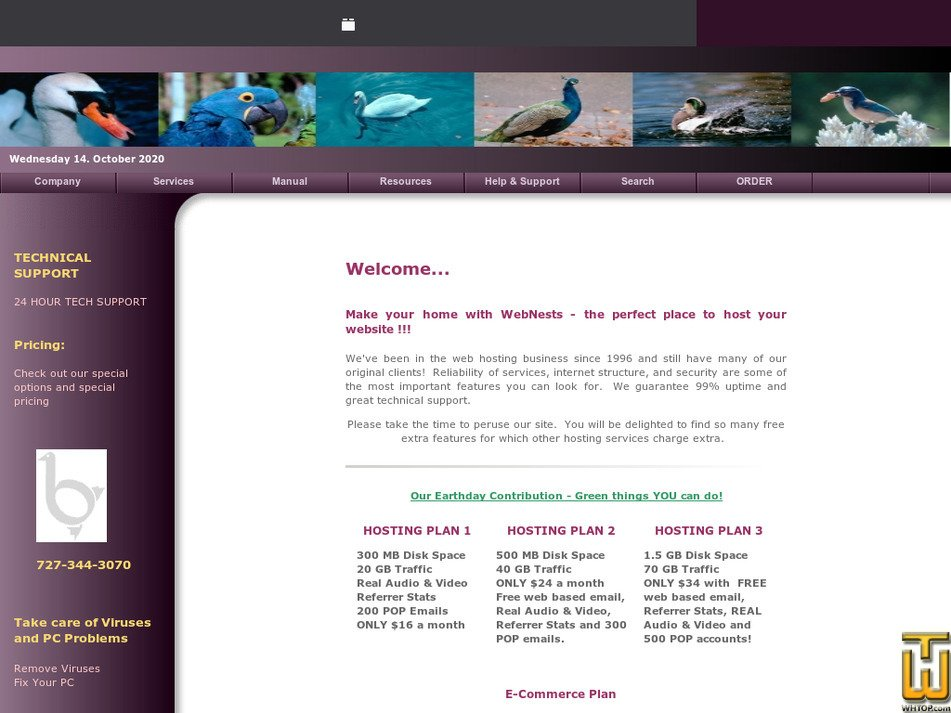 webnests.com Screenshot