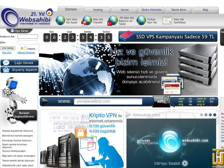 websahibi.com Screenshot