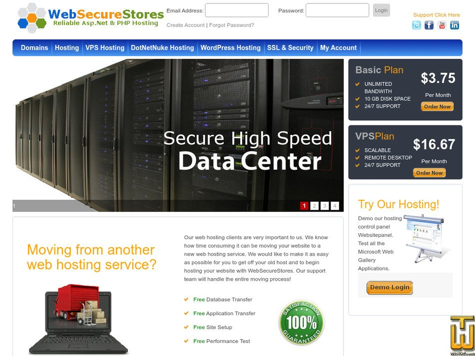 websecurestores.com Screenshot