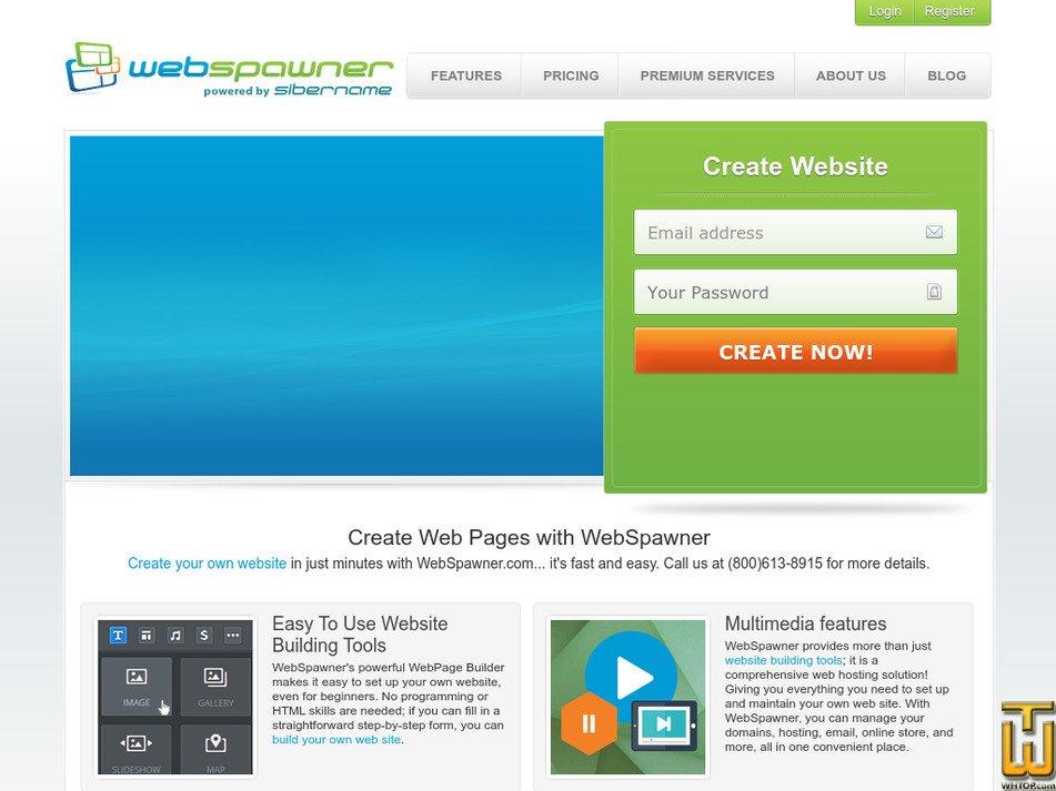 webspawner.com Screenshot
