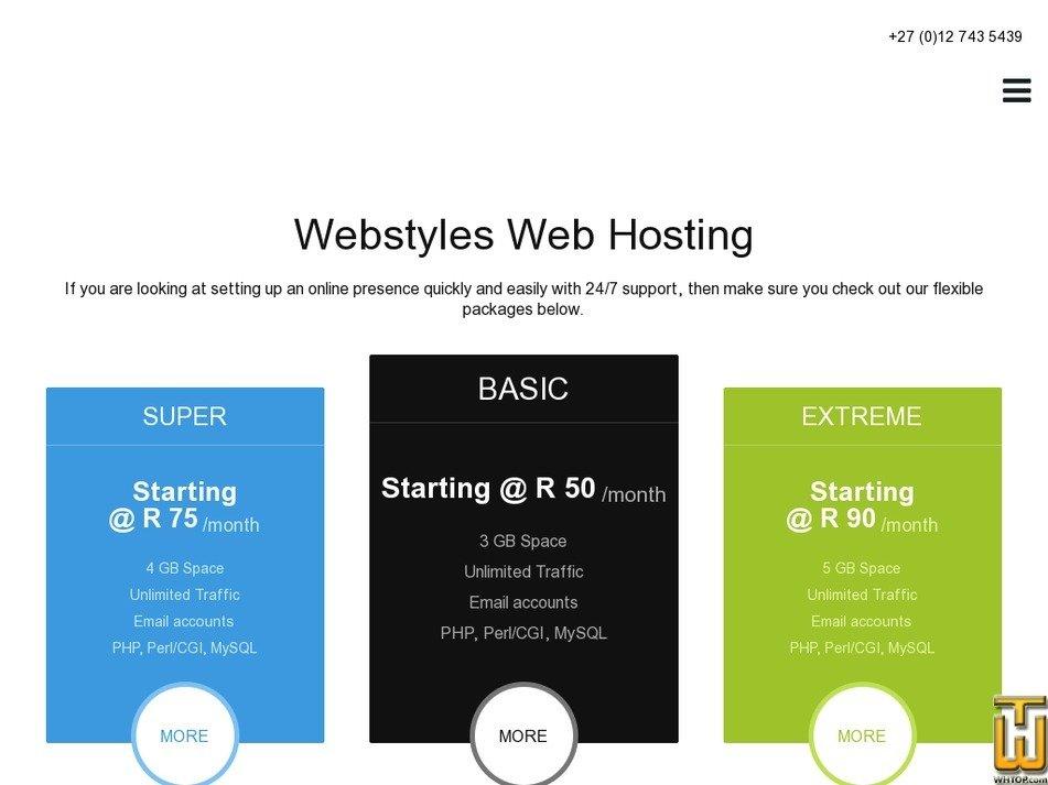 webstyles.solutions Screenshot