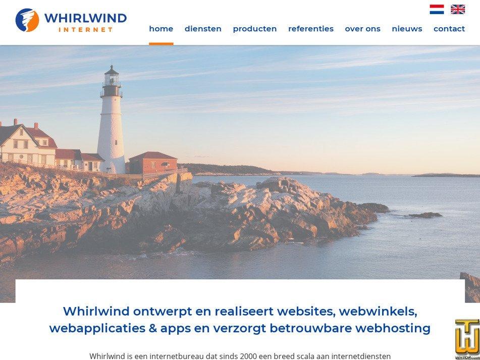 whirlwind.nl Screenshot
