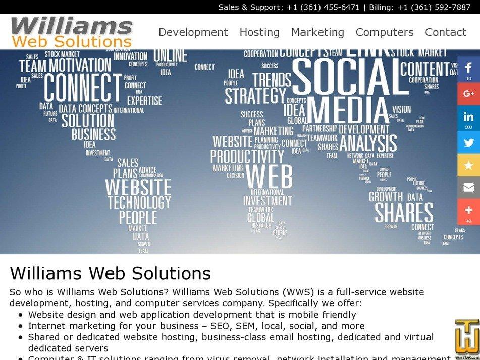 williamswebsolutions.net Screenshot