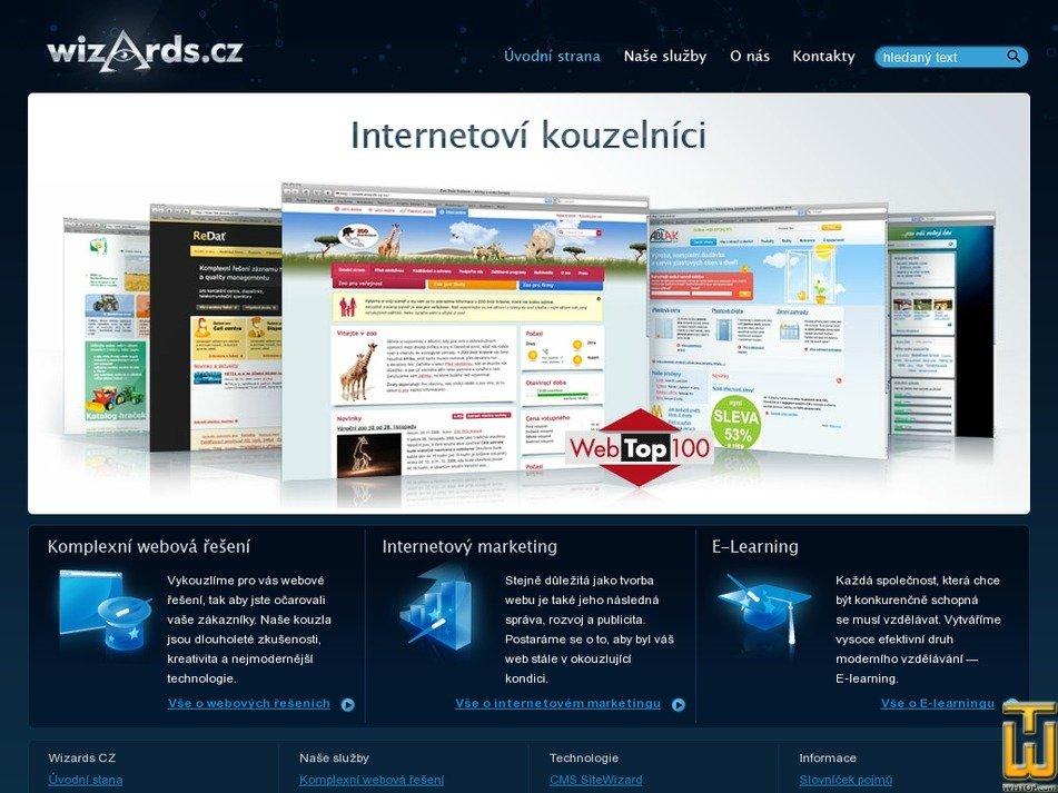 wizards.cz Screenshot