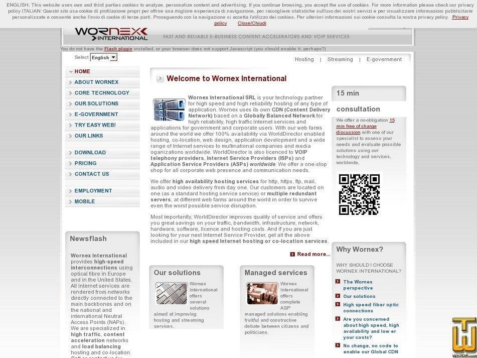 wornex.com Screenshot