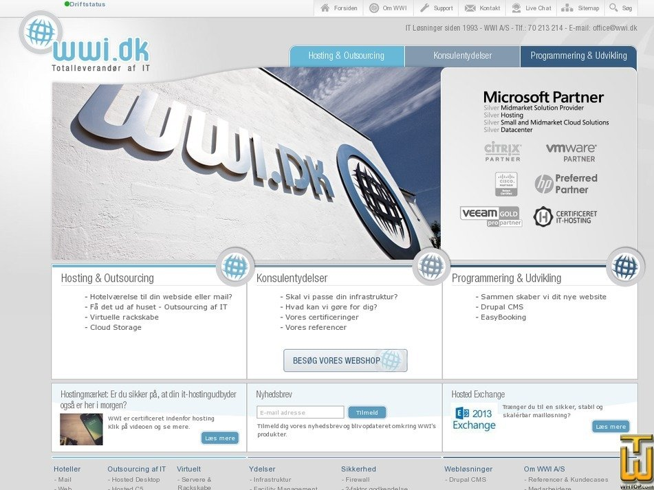 wwi.dk Screenshot