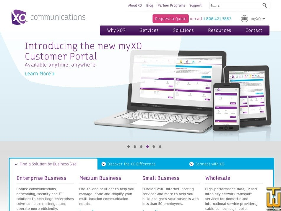 xo.com Screenshot