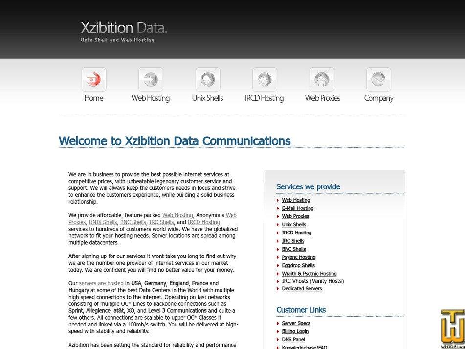 xzibition.com Screenshot