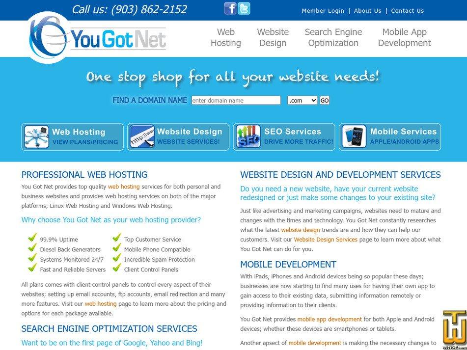 yougotnet.com Screenshot