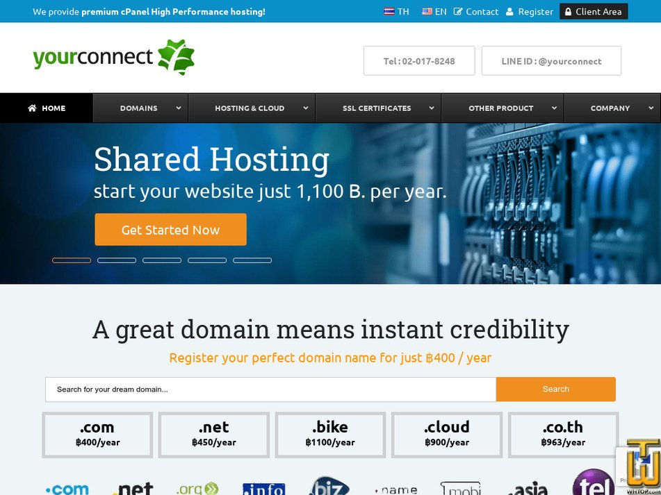 yourconnect.com screenshot
