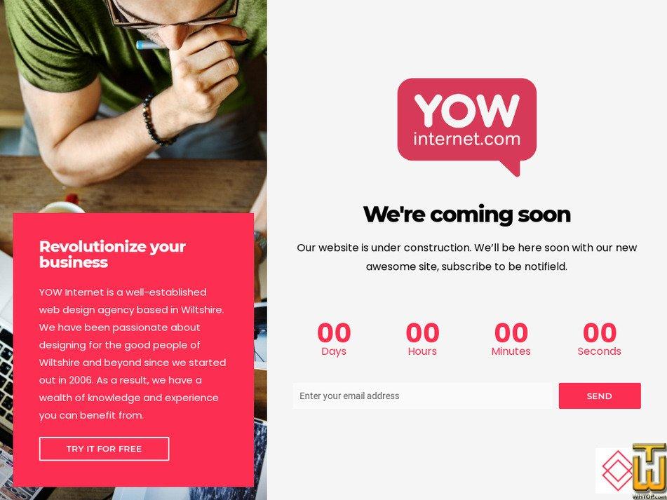 yowinternet.com Screenshot