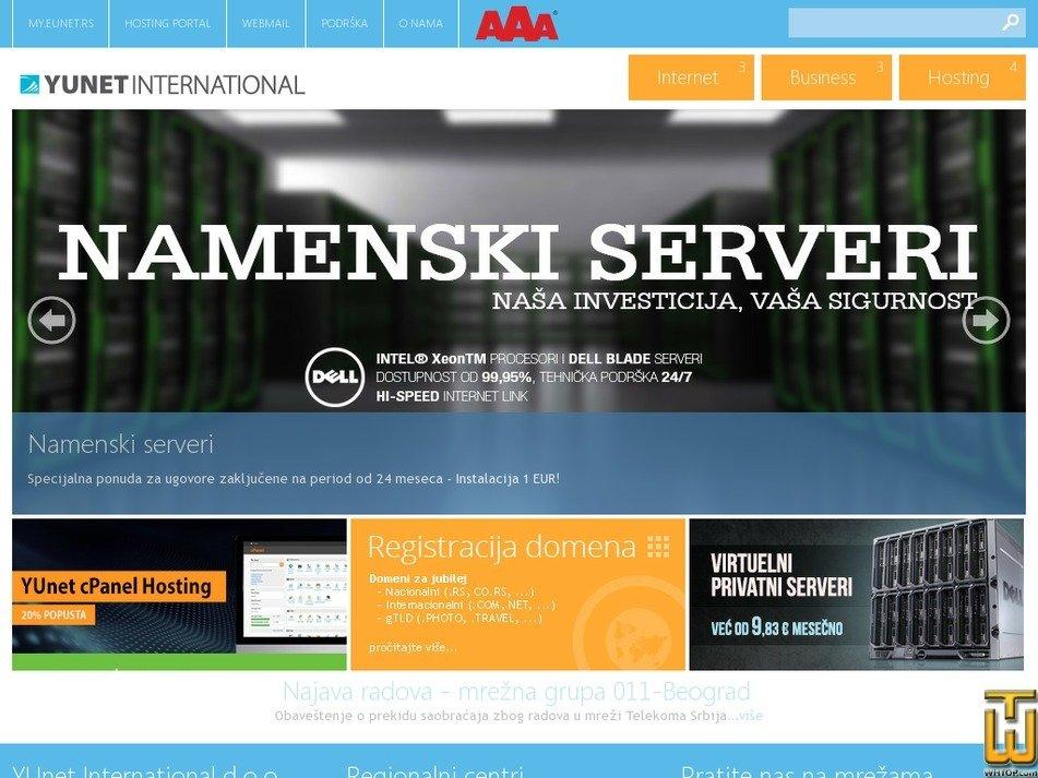 yu.net Screenshot