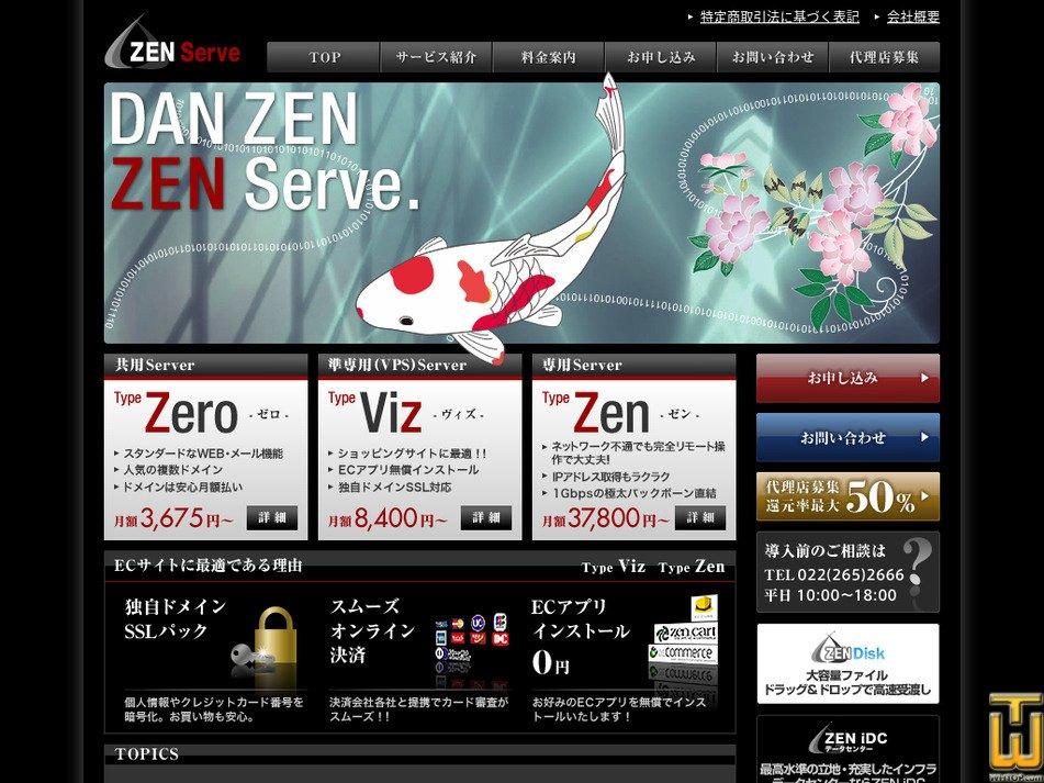 zen-sv.com captura de pantalla