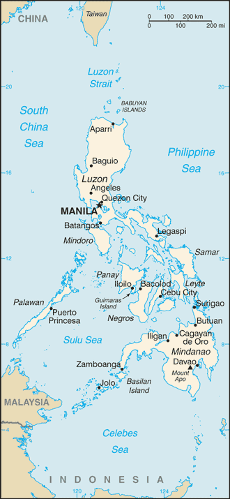 PH country map