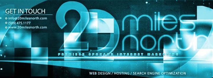 20milesnorth.com Cover