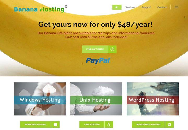 bananahosting.com Cover