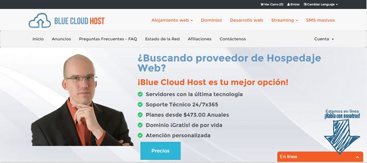 bluecloudhost.net Cover