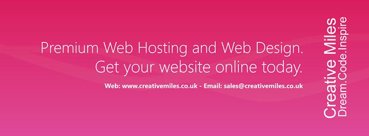 creativemiles.co.uk Cover