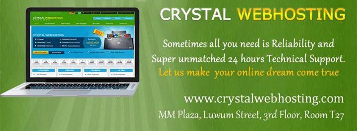 crystalwebhosting.com Cover