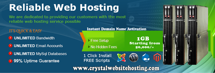 crystalwebsitehosting.com Cover