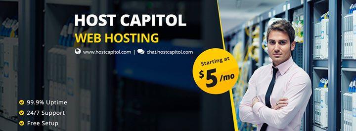 hostcapitol.com Cover