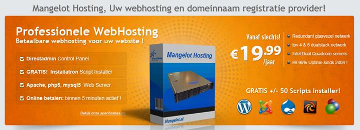 mangelot-hosting.nl Cover