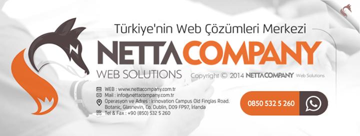 nettacompany.com.tr Cover