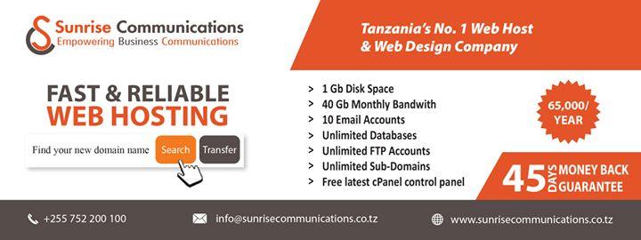 sunrisecommunications.co.tz Cover