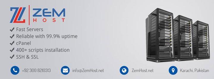 zemhost.net Cover